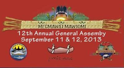 Mi'gmawei Mawiomi 2013